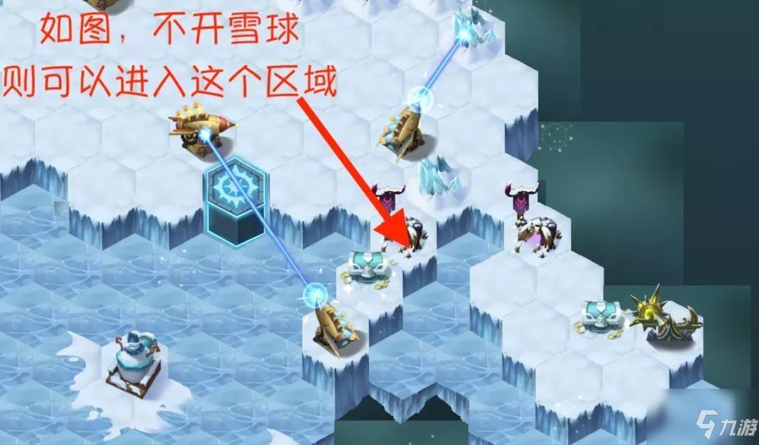 剑与远征霜息冰原雪球机关怎么使用?霜息冰原雪球机关使用攻略